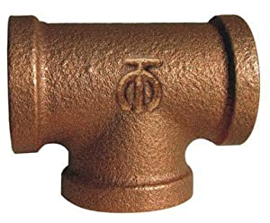 """Anderson Fittings Ab101rb-f """"anderson"""" Threaded Tee"""
