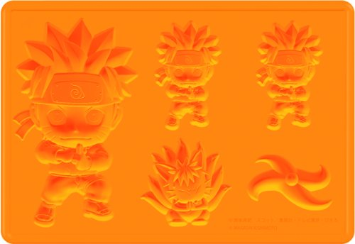 Kotobukiya Naruto Naruto Uzumaki Silicone Ice Tray - 1