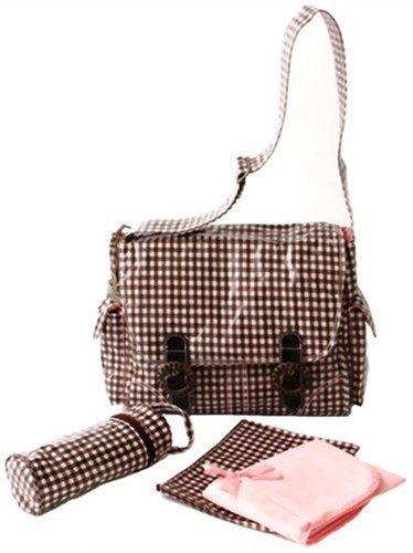 kalencom-coated-double-buckle-bag-check-pink