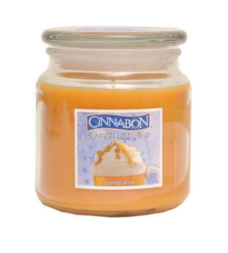 Cinnabon By Hanna's Caramel Apple Cider 14.5oz Soy Candle
