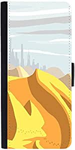 Snoogg Sahara Desert Digital 2483 Designer Protective Flip Case Cover For Sam...