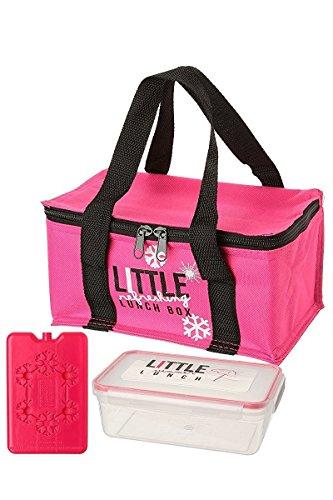 Lunch bag / boîte repas isotherme lrlb (Rose)