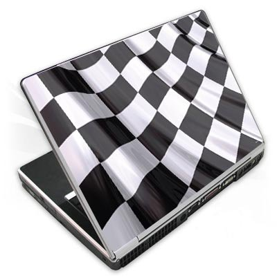 Design Skins für TOSHIBA Satellite L670D-11T - Race Flag Design Folie