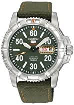 Seiko 5 Sports Automatic Nylon Mens Watch SRP215K2