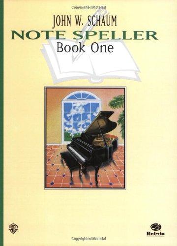 Schaum Note Spellers Book 1 (Schaum Method Supplement)
