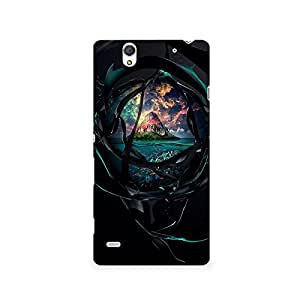 TAZindia Designer Printed Hard Back Mobile Case Cover For Sony Xperia C4