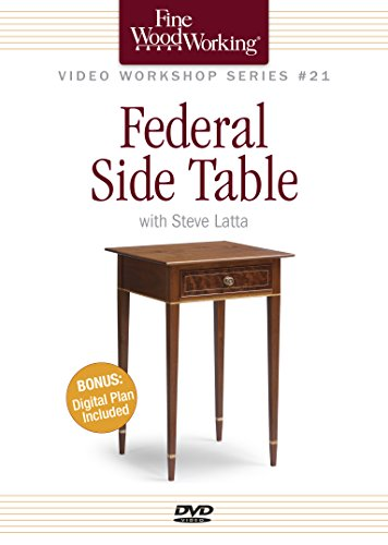 Fine Woodworking Video Workshop Series - Federal Side Table (Dvd Side Table compare prices)