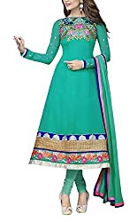 The Magical Thread Women's Georgette Unstitched Dress Material (MR-DN065_Multicolor_Free Size)