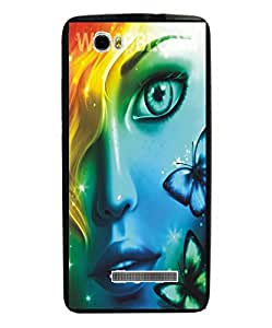 Techno Gadgets Back Cover for Intex Aqua Ace Mini