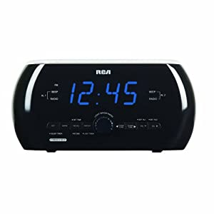 RCA RC220 Soft Light Clock Radio with Motion Activation