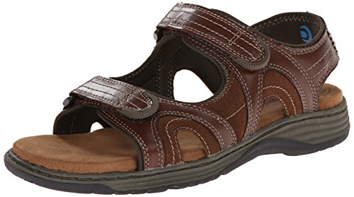 Nunn Bush Men's Randall Gladiator Sandal, Cognac, 10 M US (Randall Bush compare prices)