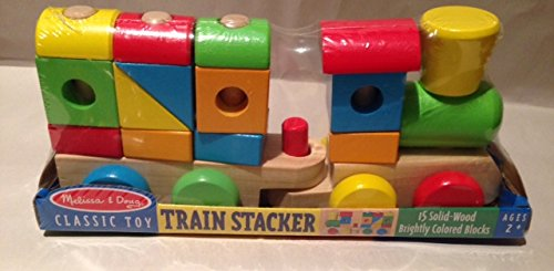 Melissa & Doug Classic Toy Train Stacker - 1