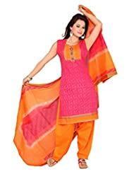 Ritu Creation Women's Cotton Stitched Salwar Suit - B015ZVBUDO