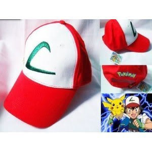 Brand New Unopened Product Pokemon Ash Ketchum Hat Free Size ( Made Of High Quality Cotton) Jouets, Jeux, Enfant, Peu, Nourrisson