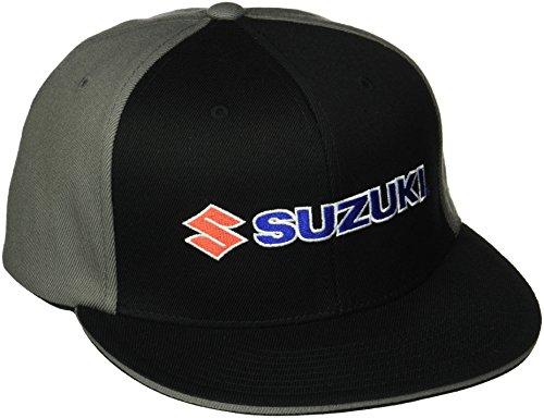 factory-effex-suzuki-flex-fit-hat-black-grey-large-x-large
