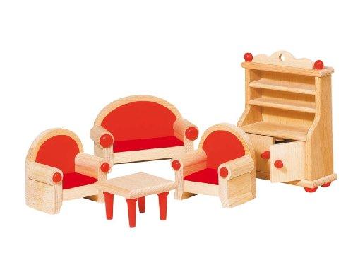 Wohnzimmer Stehlampe Preisvergleich : Goki Puppenhausmöbel für das ...