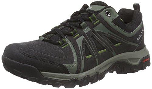 SalomonEvasion GTX - Scarpe da trekking e da passeggiata Uomo , Nero (Schwarz (Asphalt/Black/Genepi-X)), 42