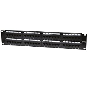 Intellinet 48-Port 2U Cat6 Patch Panel (560283)
