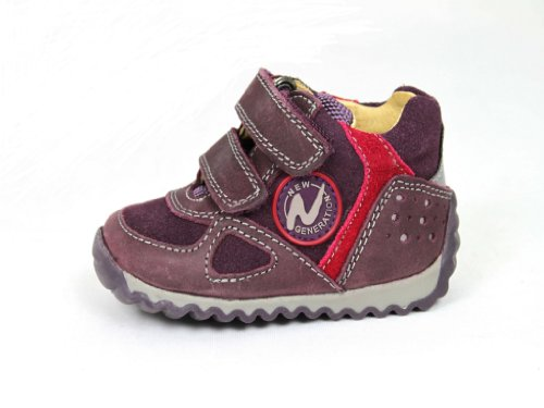 Naturino Scarpe Scarpe bambino scarpe Brogue Izo, rosso (Red - Bordeaux Red), 36 EU