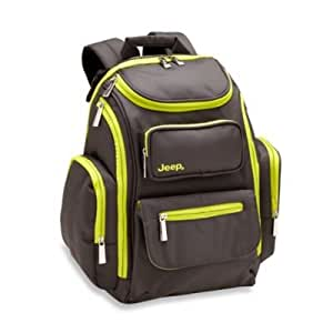 jeep perfect pockets backpack diaper bag baby. Black Bedroom Furniture Sets. Home Design Ideas