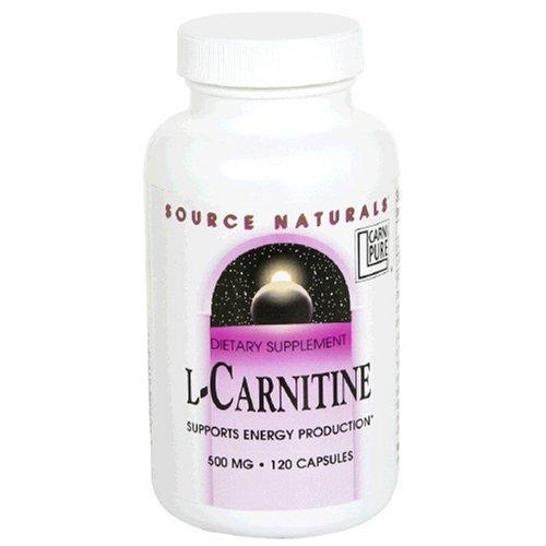 Source Naturals L-Carnitine 500mg,