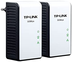 TP-Link TL-PA411 KIT Pack de 2 Mini Adaptateurs CPL Ethernet powerline 500 Mbps