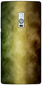 Snoogg Through A Storm 2388 Designer Protective Back Case Cover For One Plus Two