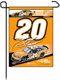 Tony Stewart 11x15 Garden Flag by Unknown
