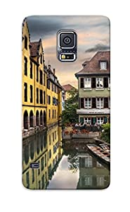 Nkqktr-3033-efonbyd Colmar France Town Village Architecture Houses