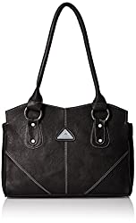 Fantosy Women's Handbag (Fnb-166, Black)