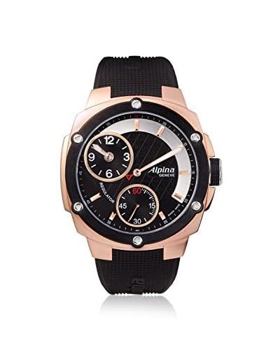 Alpina Men's Regulator Extreme Black Stainless Steel Watch