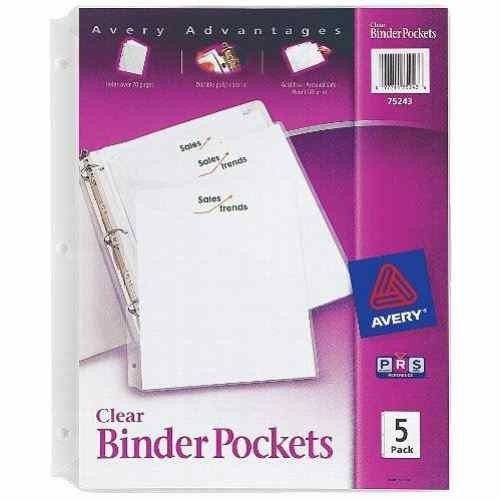 Avery® Binder Pockets