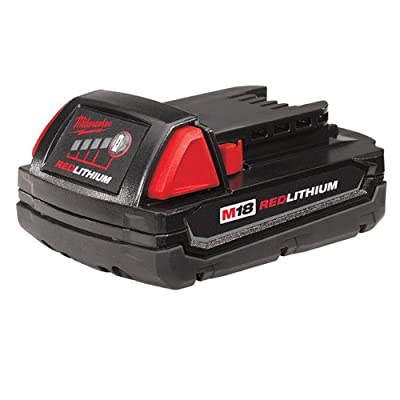 Milwaukee 48-11-1815 M18 Compact RED LITHIUM 18-Volt Lithium-ion Cordless Tool Battery
