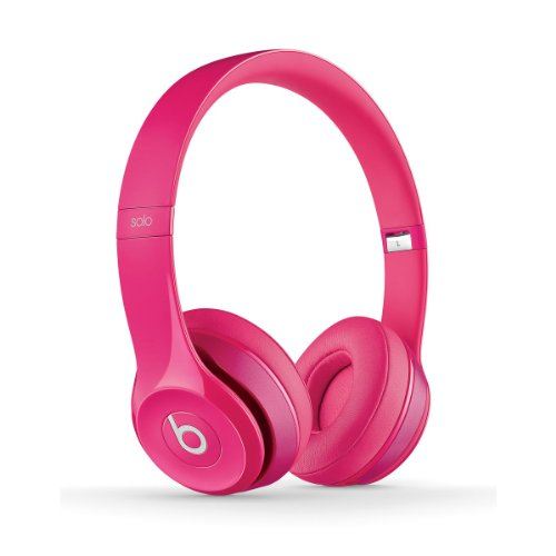 Beats By Dr Dre Solo 2 On Ear Headphones B0518 | Iconic Sound Tune With Emotion (Pink)