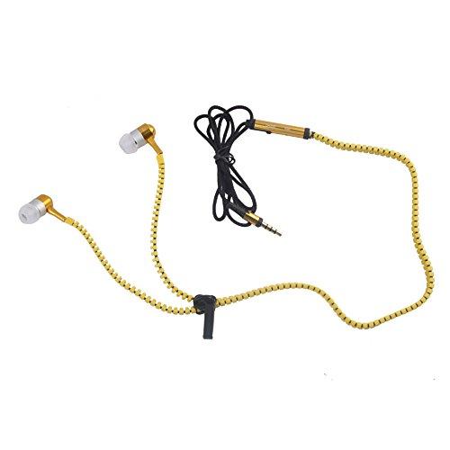 Hexadisk Zipper In the Ear Headset