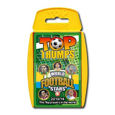 Top Trumps - World Football Stars 2013/14