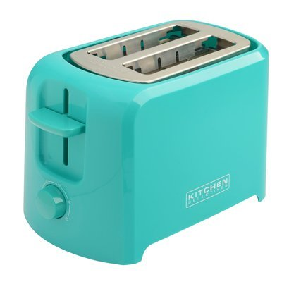 Kitchen Selectives Cool-Touch 2 Slice Toaster - Teal (Toaster Oven Blue compare prices)