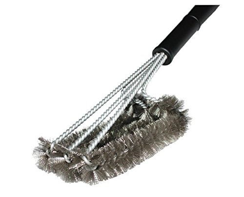 ?Limited Introduction Offer? BBQ Grill Brush 12 inch, World's best Stainless steel barbecue Grill Brush-- One of the Best BBQ Accessories and Tools Around - This BBQ Grill Brush is the Perfect Accessory for Cleaning Charcoal, Gas, Electric and Infrared Outdoor BBQ Grills**FDA Certified and LFGB Approved**Money Back Guarantee**As Seen On TV**PRICE WILL GO UP SOON! Don't mis this opportunity!