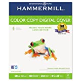 Color Copy Digital Cover Stock, 60 lbs., 8-1/2 x 11, White, 250 Sheets