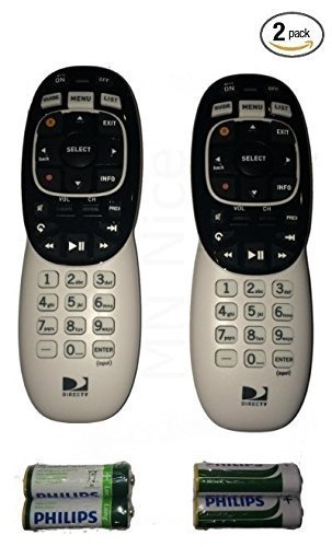 Great Deal! 2 Pack - DIRECTV RC73 IR/RF Remote Control