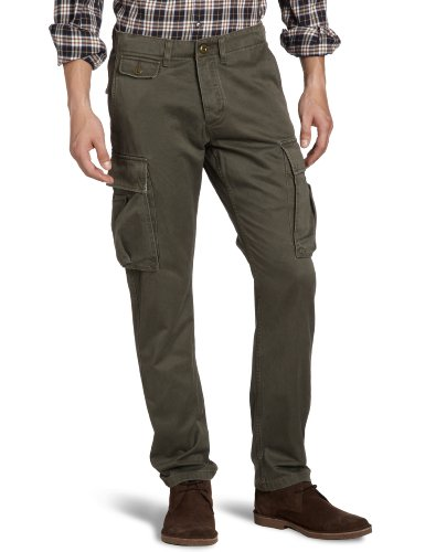 Dockers Fleet Cargo Tapered Men's Trousers Rifle Green W34INxL32IN
