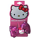 Hello Kitty Hair Clips (Sparkle Bow)