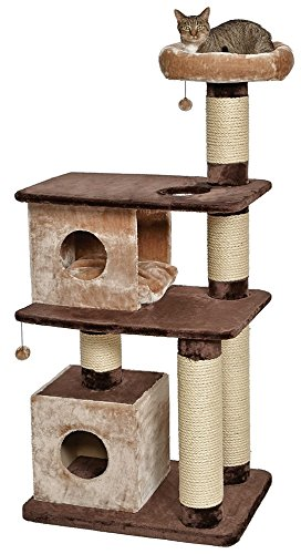 Midwest Homes for Pets Feline Nuvo Grand, Camelot Multi-Level Cat Furniture