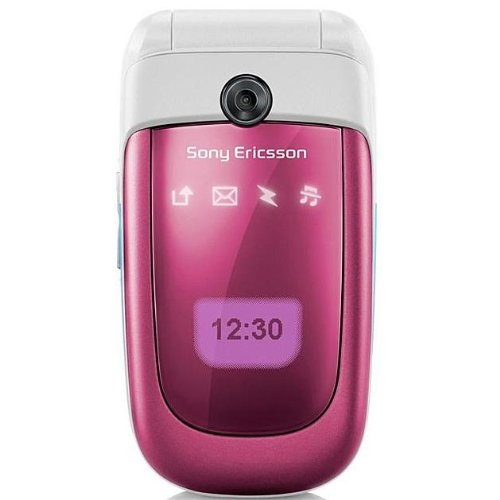 Sony-Ericsson-Z310a-Pink-No-Contract-AT-T-Cell-Phone