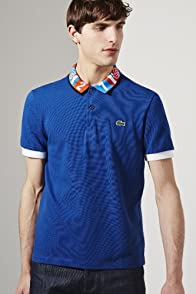 Sanghon Kim L!Ve Polo With Graphic Collar