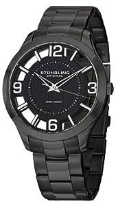 Stuhrling Original Men's 754.03 Classic Winchester Court Swiss Quartz Black Watch