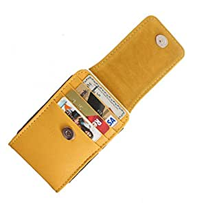 DooDa PU Leather Pouch Case Cover With Magnetic Closure For Intex Aqua Power