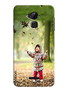 Omnam Sweet Boy Enjoying In Park Designer Back Cover Case For Coolpad Note 3