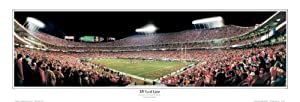 NFL Kansas City Chiefs Arrowhead Stadium, 35 Yard Line Panoramic Print Photo Unframed by NFL