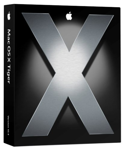 Apple Mac OS X 10.4 Tiger [OLD VERSION]